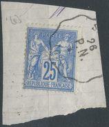 Lot N°38070  N°78, Oblit Cachet à Date Convoyeur Station à N° - 1876-1898 Sage (Type II)