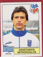 Panini Football 94 1994 Voetbal Sticker Autocollant Worldcup USA Anastasios Mitropoulos Nr. 274 Hellas Greece Grèce - Sports