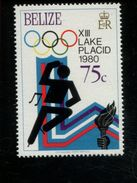 479715636 1979  ** MNH Yvert 449 Winter Spelen Lake Placid Kunstschaatsen - Belize (1973-...)