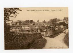 CPA: 69 - St DIDIER-AU-MONT-D'OR - VUE SUR LE VIEUX BOURG - Sonstige Gemeinden