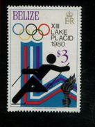 479715988 1979  ** MNH Yvert 452 Winter Spelen Lake Placid Fons Skien - Belize (1973-...)