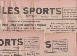 LES SPORTS 1933 Réunion De 7 Numéros 1933 & 1934 - Kranten