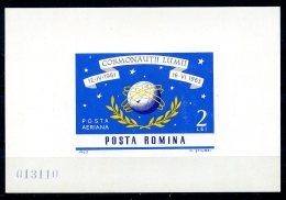 Romania, 1964, Space, MNH, Michel Block 56 - Rumania