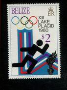 479717158 1979  ** MNH Yvert 451 Winter Spelen Lake Placid Schaatsen - Belize (1973-...)