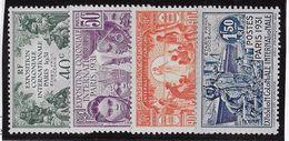 Océanie N°80/83 - Neuf * Avec Charnière - TB - Unused Stamps