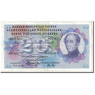 Suisse, 20 Franken, 1972, 1972-01-24, KM:46t, TTB - Suiza