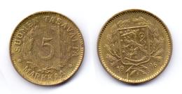 Finland 5 Markkaa 1946 S (KM#31a) - Finlandia