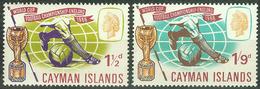 Cayman Islands 1966, Sport Soccer Football World Cup Mi.# 183-184, MNH / ** - Kaimaninseln