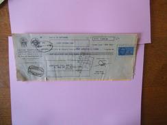 TIMBRE FISCAL 12 FRANCS SUR TRAITE CAISSE CORPORATIVE D'ESCOMPTE ET DE CREDIT DU 30 SEPTEMBRE 1939 - Steuermarken
