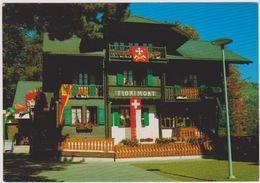 SUISSE, GRYON SUR BEX,vaud,district D'aigle,VILLAGE,FLORIMONT,HOTEL - VD Vaud