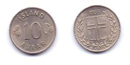 Iceland 10 Aurar 1958 - Islandia