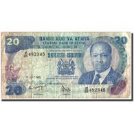 Kenya, 20 Shillings, 1985, 1985-07-01, KM:21d, TB - Kenya