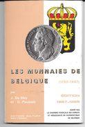 Catalogue Des Monnaies De Belgique (1790-1987). / J.De Mey & G. Pauwels . - Belgique
