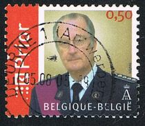 2005 - BELGIO / BELGIUM - RE ALBERTO II / KING ALBERT II. USATO / USED - Belgium