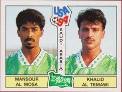 Panini Football 94 1994 Voetbal Sticker Autocollant Worldcup USA Mansour Al Mosa Khalid Al Temawi Nr. 440 Saudi Arabia - Sports