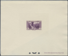 (*) Libanon: 1931-43, 38 Epreuve De Luxe Including Sunk Die Proofs, President Edde And Palace Beit Ed-Di - Lebanon