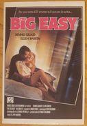 THE BIG EASY Film - Dennis Quaid - Ellen Barkin Postcard Nv - Altri