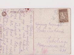 V14  >  SLOVENIA  --  VERIGARI, CHAINBREAKERS  --   POSTCARD _. BOY, SCOUT  --   1921 - Slowenien