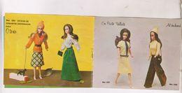 PETIT CATALOGUE POUPEE BARBIE(?)  20 MODELES - Barbie