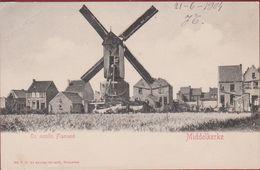 Middelkerke Un Moulin Flamand Windmill Windmolen Moulin A Vent (kreuk, Fold) - Middelkerke