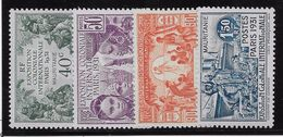 Mauritanie N°62/65 - Neuf * Avec Charnière - TB - Mauritanie (1906-1944)
