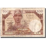 France, 100 Francs, 1947 French Treasury, Undated (1955), KM:M11a, B - Tesoro