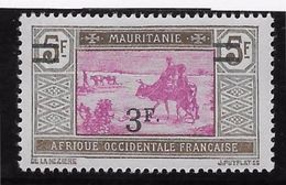 Mauritanie N°54 - Neuf * Avec Charnière - TB - Mauritanie (1906-1944)