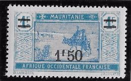Mauritanie N°53 - Neuf ** Sans Charnière - TB - Mauritanie (1906-1944)