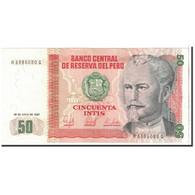 Pérou, 50 Intis, 1987, 1987-06-26, KM:131b, SPL+ - Pérou