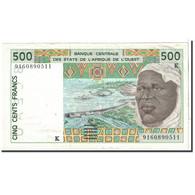 West African States, 500 Francs, 1991, KM:710Ka, TTB+ - Senegal