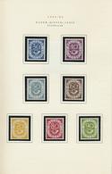 ** Bundesrepublik Und Berlin: 1848/1952, SONDERHEFT BUNDESPOST:Postfrische Sammlung Mit Weitgehend Komp - Germany