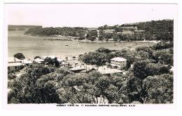 RB 1170 -  Real Photo Postcard - Balmoral Sydney Showing Naval Depot NSW Australia - Sydney