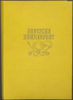** Bundesrepublik Deutschland: 1949/1956, Ministerbuch Mit 16 Seiten Mit Den Postfrischen Ausgaben Mi.N - [7] Federal Republic