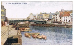 RB 1171 - Early Photochrom Postcard - The Bridge Whitby - Yorkshire - Whitby