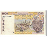 West African States, 1000 Francs, 1991, KM:711Ka, SUP - West African States