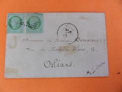 Le 13.10.17_LSC De Orléans?   2 Exemplaire Du N°53, - Postmark Collection (Covers)