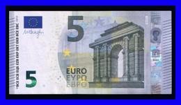 "5 EURO ""NA"" AUSTRIA Firma DRAGHI N016 D3 SEE SCAN!!!!!! - EURO"