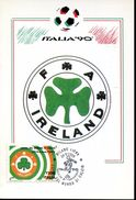 27276 Italia, Maximum 1990  World Football Champ. Italy 1990, - Cartoline Maximum