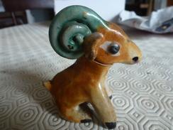 Petite Statuette De Bélier - Ceramics & Pottery