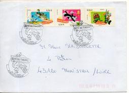 Enveloppe Fdc. Fete Du Timbre. Brives Charensac. 28/2/2009 - FDC