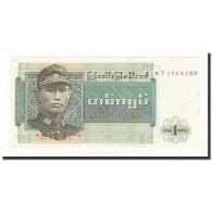 Birmanie, 1 Kyat, Undated (1972), KM:56, NEUF - Cambodia