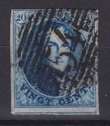 N° 7 Margé Perception 54 HAMME COBA + 15.00 - 1851-1857 Medallones (6/8)