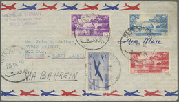 Br/GA Libanon: 1860's-1960's Ca.: About 235 Covers And Postcards From Various P.O.s In Lebanon, From 1867 - Lebanon