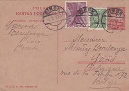 Entier Postal Pologne - Karta Pocztowa POLSKA - 1931 - P.Z.G. N° 235-5000000-26 - Stamped Stationery
