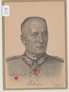 338, Ritterkreuz Karte Generaloberst Friedrich Dollmann, Steiniger Verlag ! - Guerre 1939-45