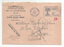 GRIFFES RETOUR ENVOYEUR DIJON 1977 - 1961-....