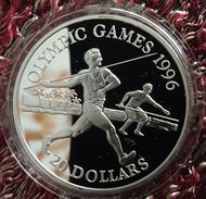 "TUVALU 20 DOLLARS 1994 SILVER PROOF ""OLYMPIC GAMES 1996"" - Tuvalu"