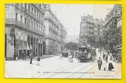 ALGER Rues De Constantine Et Dumont D'Urville (Collection Idéale PS) Algérie - Alger