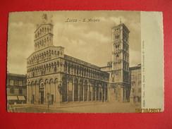 LUCCA - S. MICHELE, VIAGGIATA 1908 - Lucca