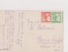 V49  >  SLOVENIA  --  VERIGARI, CHAINBREAKERS  --      POSTCARD  _.  M. MUNK  Pinx.   --  NUDE BOY  _  1921 - Slovenia